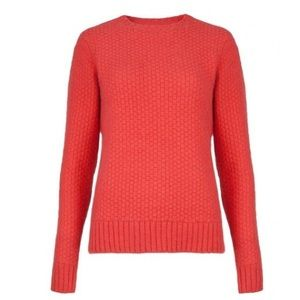 Ted Baker Miiko Elbow Patch Cashmere Blend Sweater